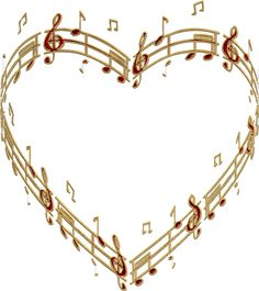 By Artist Unknown. Music Pics, Music Photo, Music Stuff, Art Music, Music Heart, Heart Art, Love Heart, Sound Of Music, Kinds Of Music