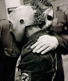 Slipknot, Corey Taylor and Mick Thomson. unter We Heart It.