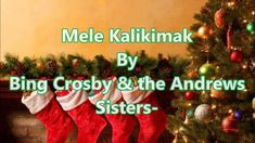 Mele Kalikimaka! Include it in your next caroling night. Our family has now become known for singing this whenever we carol during the Holidays.