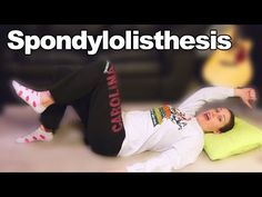 Spondylolisthesis Exercises & Stretches for Back Pain - Ask Doctor Jo - YouTube