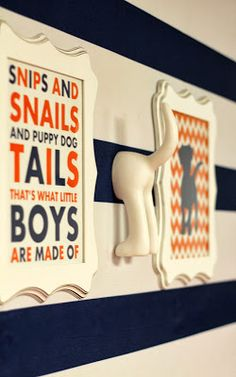 TashandCompany: Snips and Snails and Puppy Dog Tails Baby Shower
