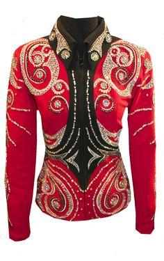 Red Belted Jacket