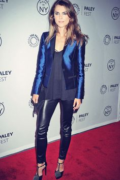 Lovely Ladies in Leather: Jessica Lucas in a leather skirt | women ...