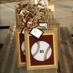 Baseball Treat Bags