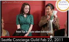 Paint Color Tips Seattle Concierge Guild February 22, 2011