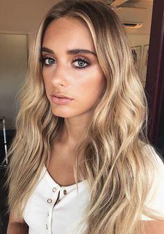 Pinterest: DeborahPraha ♥️ blonde balayage curls