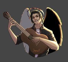 Wise Monkeys, My Romance, Boys Dpz, Angels And Demons, Manga Art, Romans, Art Girl, Fantasy Art, First Love