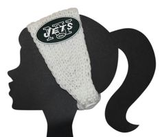 Jets Knit Headband