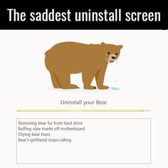 This is unbearable