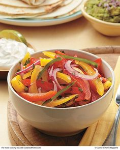 Green Apple, Red Onion, Avocado and Red Pepper Salad | Recipe | Red ...
