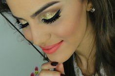 #makeup  #glitter