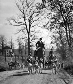 Green-Spring Vally Hunt 1936 By A. Aubry...