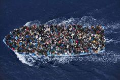Inmigrantes rescatados al norte de Libia. World Press  Photo 2015.