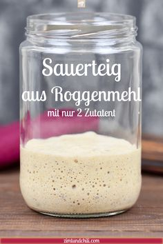Sauerteig ansetzen - Rezept mit Roggenmehl und vielen Tipps - Zimt & Chili Make sourdough - recipe with rye flour and many tips - cinnamon & chili Hamburger Meat Recipes, Pork Chop Recipes, Meatloaf Recipes, Fish Recipes, Sourdough Recipes, Sourdough Bread, Yeast Bread, Recipes With Rye Flour, Tartiflette Recipe