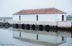 Moinho de Maré - Moulin d'Eau - Water Windmill