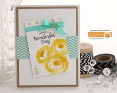 MY LIFE by Silke Ledlow Stamp Tv, Wonderful Day, Pretty Cards, My Life, Card Making, Old Things, Country, Flowers, Projects