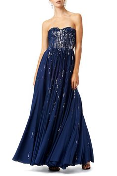 Rent Meteor Shower Gown by Rebecca Taylor for $70 only at Rent the Runway.