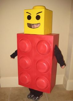 Get square as a Lego man