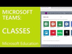 Module 4: Creating a Class in Microsoft Teams - YouTube Teaching Technology, Technology Integration, Microsoft Classroom, Microsoft Office, Office 365 Education, Team Teaching, Computer Literacy, One Note Microsoft, Team Online