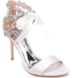 17345ba698b Badgley Mischka Felicia Embellished Sandal (Women)
