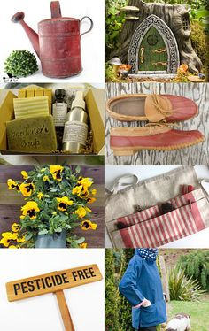 Gifts for Mum's Garden by Sally Grayson on Etsy--Pinned with TreasuryPin.com