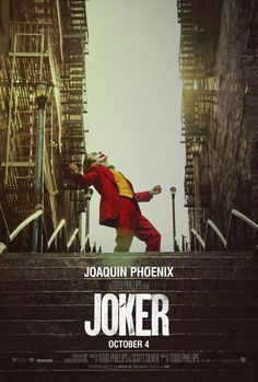 Joker is a 2019 American psychological thriller film directed by Todd Phillips, who co-wrote the screenplay with Scott Silver. The film, based on DC Comics characters, stars Joaquin Phoenix as the Joker.
