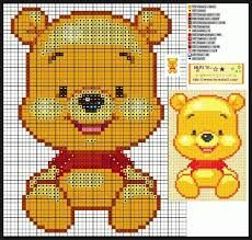 blog naver winnie the pooh cross stitch - Google Search