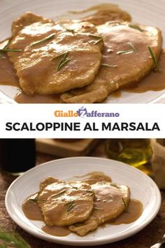 Scaloppine al Marsala – Asian Foods Almond Paste Cookies, Pork Scallopini, Soul Food, Italian Recipes, Sweet Recipes, Food To Make, Chicken Recipes, Sweet Tooth, Food Porn