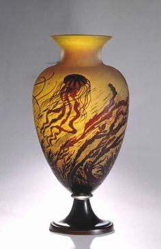 Émile Gallé | Marine Vase - 1920.