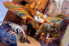FOR SALE Red Fox Isis OOAK poseable art doll resin faux fur
