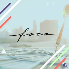 "Lettering Art: ""Foco"" / Portfolio / Social Media Lettering Art, Digital Marketing, Social Media, Social Networks, Social Media Tips"