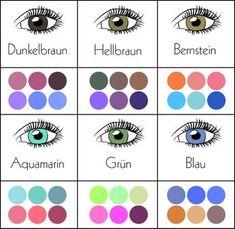 .Make-up: Welcher Lidschatten passt zu deiner Augenfarbe? > Kleine Zeitung