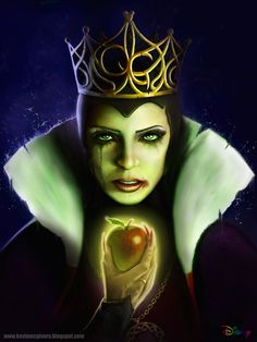 Evil Queen from Disney' Snow White
