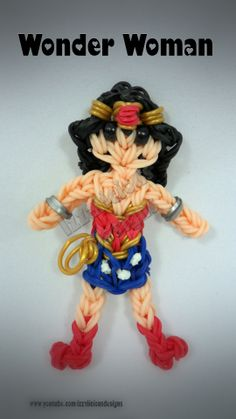 Rainbow Loom - updated version of Wonder Woman
