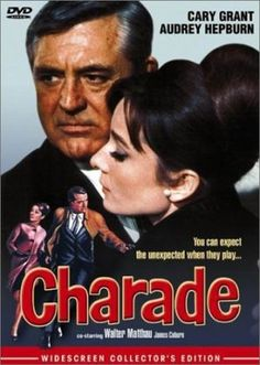 Charade movie poster - inspiration for my bridesmaid's hair last summer.