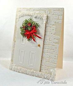 Snowy Christmas Doopr by kittie747 - Cards and Paper Crafts at Splitcoaststampers