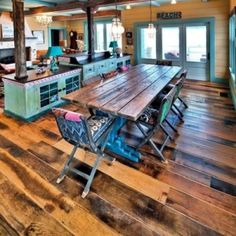 Reclaimed / antique and traditional wide plank flooring. Whether you're looking for a more elegant floor or a rustic floor, we have the floor for you. Reclaimed Wood Floors, Reclaimed Lumber, Heart Pine Flooring, Pine Floors, Pine Timber, Wide Plank Flooring, Rustic White, Red Oak, Rustic Decor