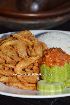 Diah Didi's Kitchen: Nasi Udang Plus Sambalnya