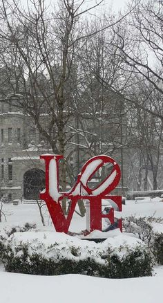 Yes, this is the original LOVE sign in Philadelphia!