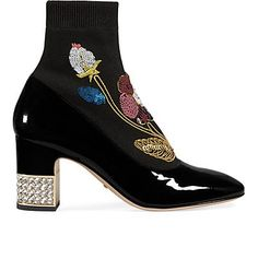 We Adore: The Candy Sock Ankle Boots from Gucci at Barneys New York