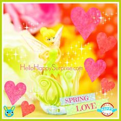 Lovely Tinker Bell doll from a Kinder Surprise Egg ♥ www.HelloHappySurprise.com