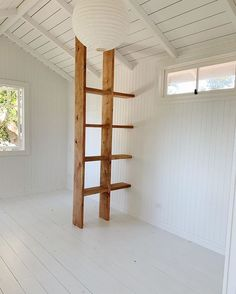Courtney Adamo Made a Backyard Shed the Hardest-Working Space in Her Home house conversion house ideas house interior house interior floor plans house interior small house plans Garden Studio, Home Studio, Backyard Studio, Home Renovation, Small House Renovation, Courtney Adamo, Exposed Rafters, House Ideas, Old Doors