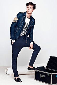 Balmain Menswear 2014