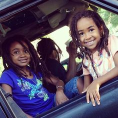 Kids with #locs so cute