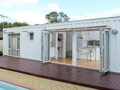 James Anscomb's completed granny flat. Picture: Daniel Wilkins