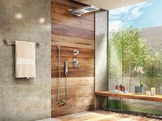 Bathroom decor, Bathroom decoration, Bathroom DIY and Crafts, Bathroom Interior design Bathroom Toilets, Bathroom Wall, Bathroom Interior, Modern Bathroom, Small Bathroom, Bathroom Ideas, Shower Ideas, Pallet Bathroom, Kitchen Modern