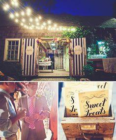 Cute wedding decor
