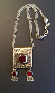 2146885d9b8f Antique Moroccan Berber Amulets and Hand Made Silver Chains - Victoria Z  Rivers+Jewelry Antique