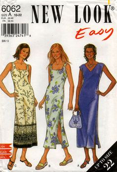 Uncut // Misses MAXI DRESS PATTERN // Size by graymountaingoods, $5.00