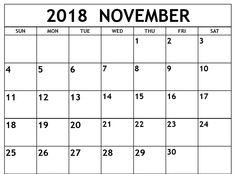 17 best 20 cute november 2018 calendar images images